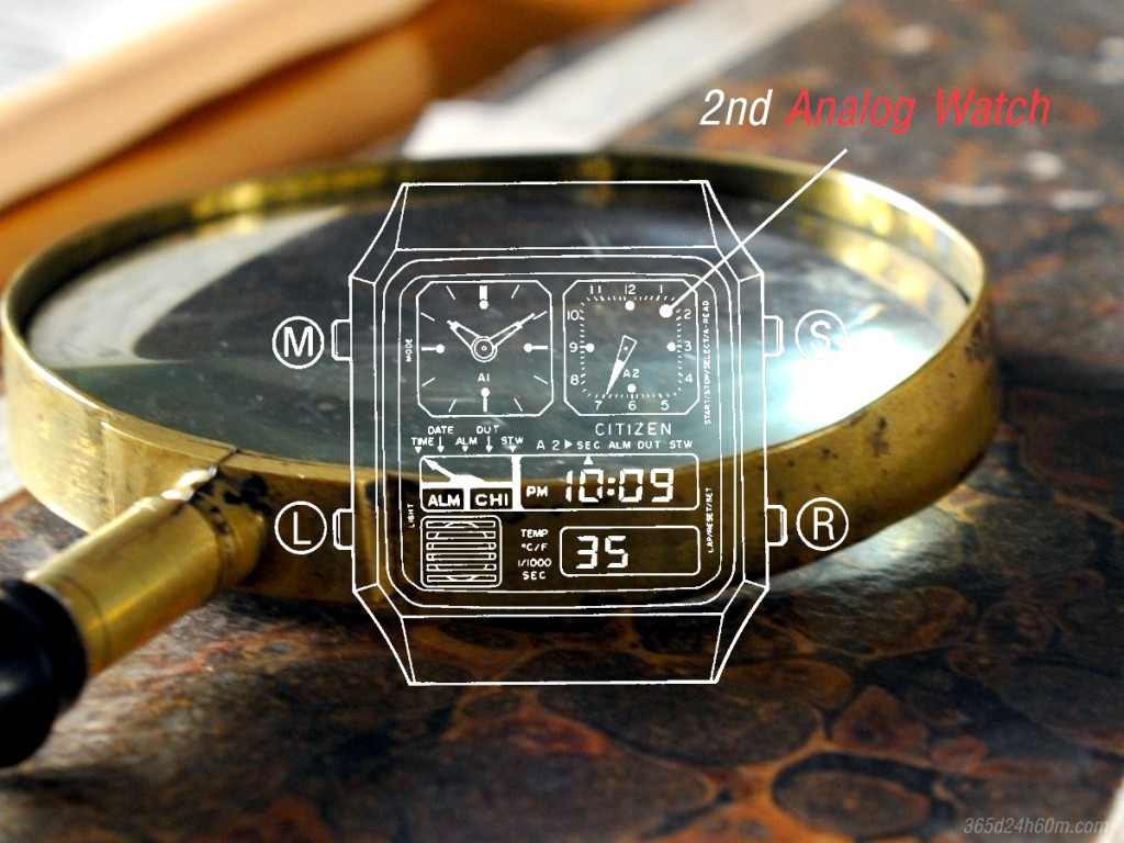2 nd Analog Watch - Description