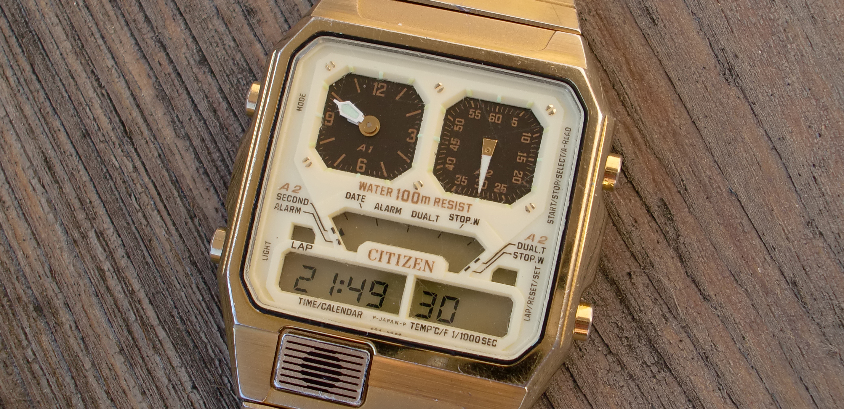 CIMG0619 - Adjusting Hours and Minutes on 2bd Analog Watch