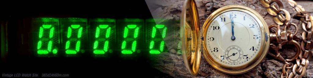 Virtual Reset LCD Display - Synchronization Digital and Analog Watch