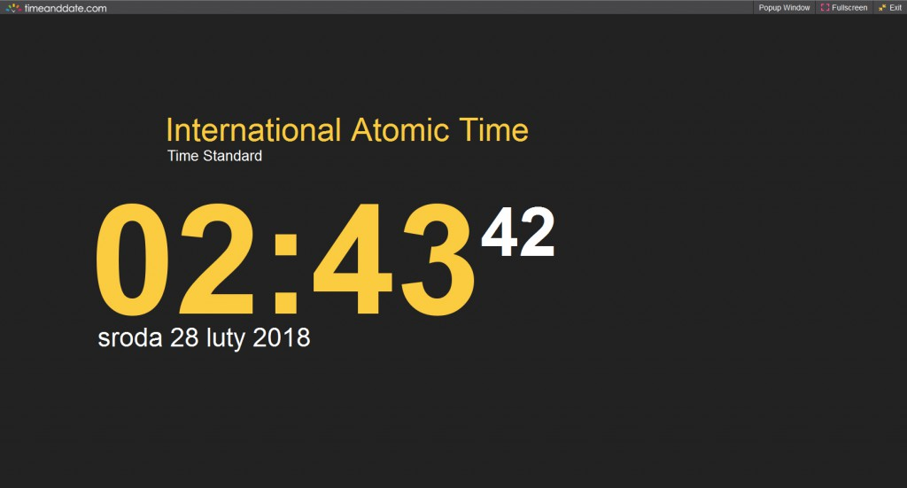 International Atomic Time