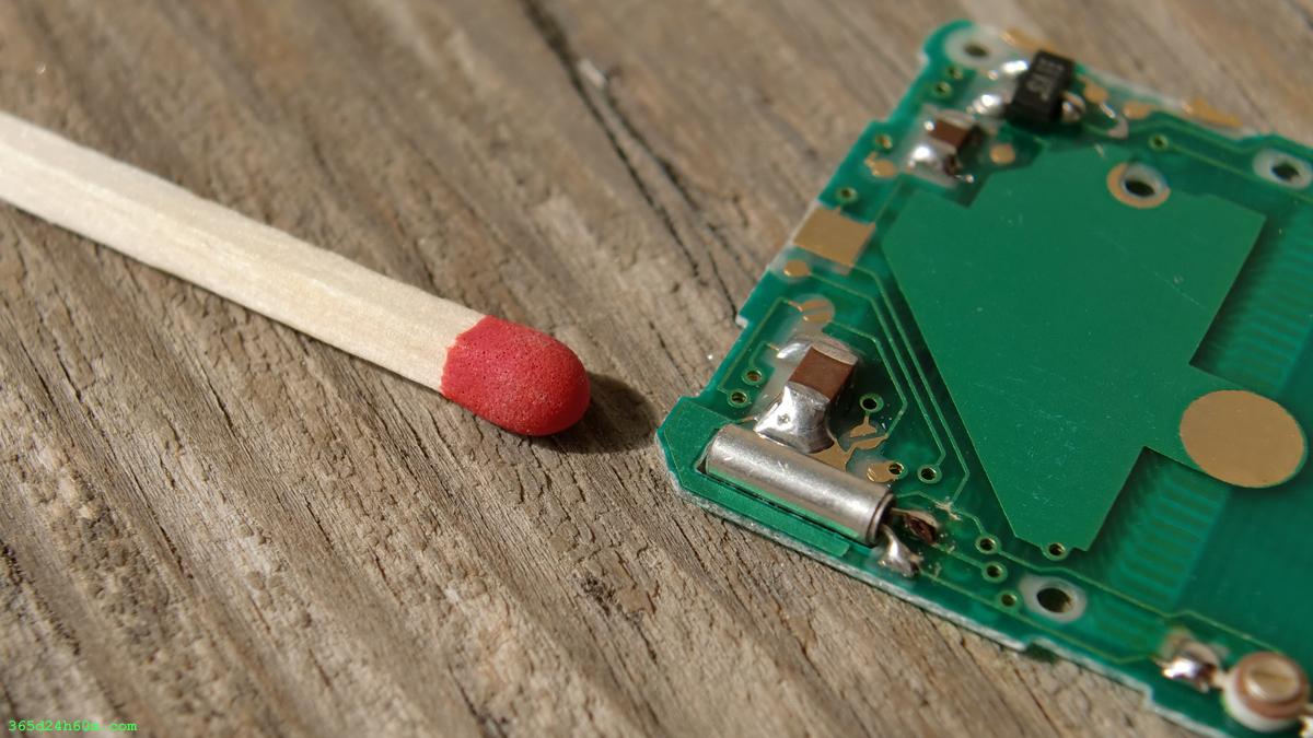The miniature Quartz Crystal Oscillator.