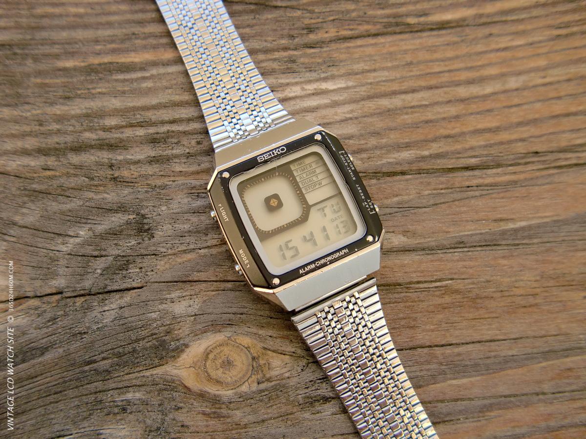 Seiko G757 - TIME Mode