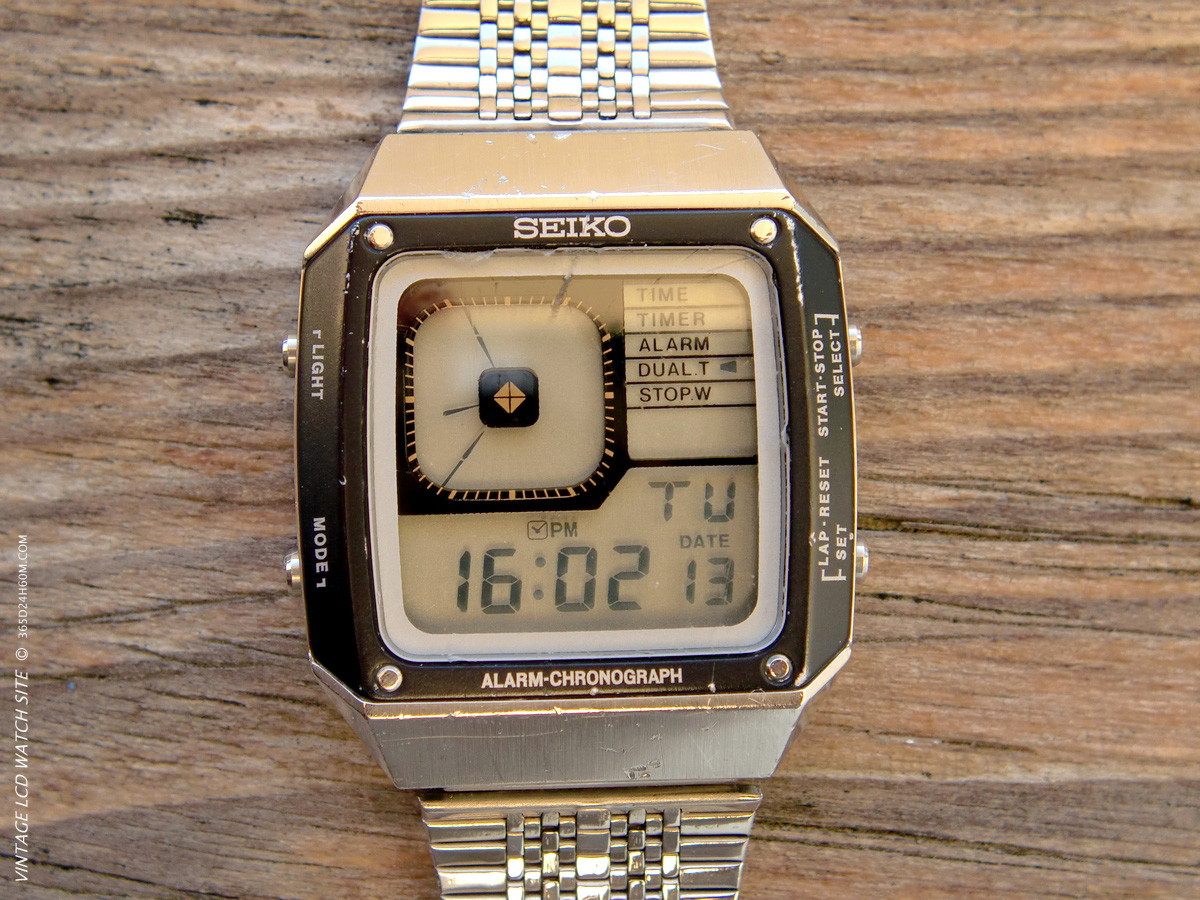 Seiko G 757 - Dual Time Mode